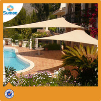 HDPE + UV stabilized sun shade sail 70 300g excellent