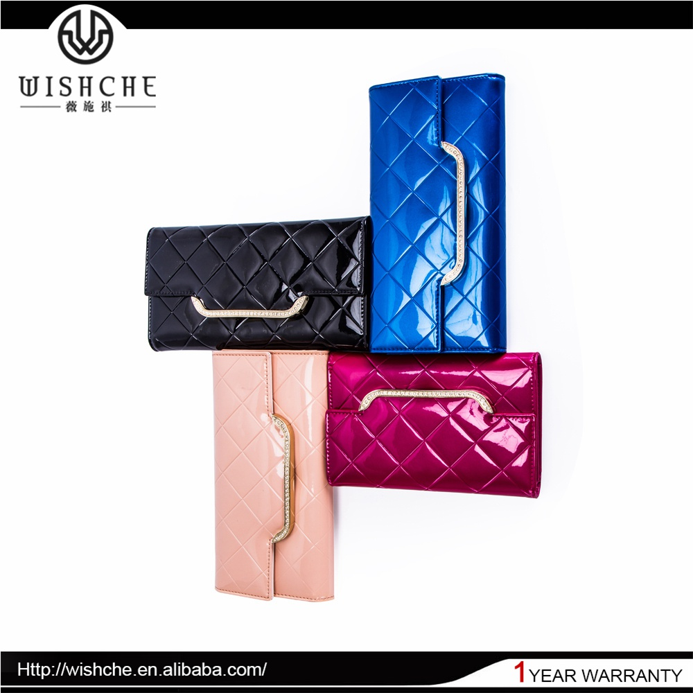 Wishche Best Seller Best Quality Gary Leather Wallet Wholesale Manufacturer W110