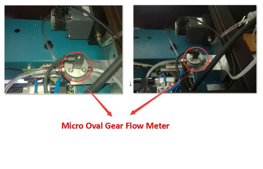 Germany standard flow meter circuit