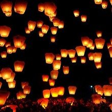 Event & party luminary sky lantern no fire