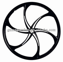 Leading Brand Top Product 100% Magnesium Alloy 26 Inch Disc Brake Bicycle Wheel For Standard MTB Wheel Rims