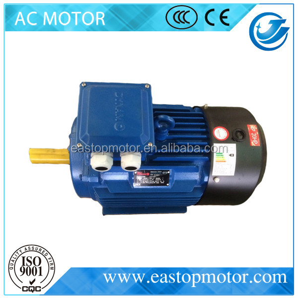 CE Approved Y3 3 phase 20hp electric motor for mechanical with copper coils