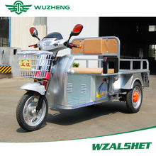 Passenger electric tricycle with 48V battery