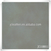 Yangbuck Embossed PU Synthetic Leather with woven backing for shoe lining