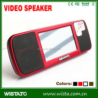 WISTATC A800 best sale electronic mini speaker/Video Speaker