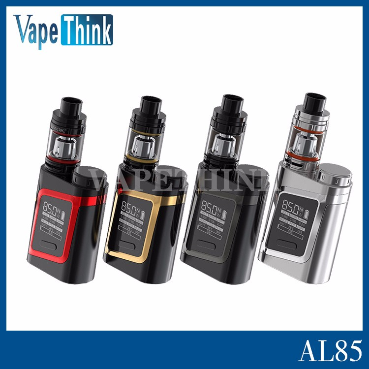 Vapethink Stock offer Smok Alien Baby 12 different colors replaceable 18650 battery 85w AL85 with fast deliver in 12h