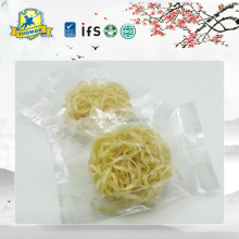 Famous branded food factory non gmo egg ready noodle
