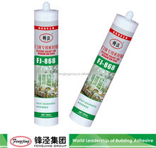 Factory Sale 310ml black waterproof adhesive silicone sealant with many colors