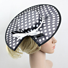 High Quality Unique Women Fascinator kentucky Derby /Wedding /Party Hat With Bowknot