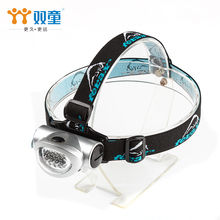 Fashional 3 AAA battery 30 lms 1W 8 LED head lamp with long working time