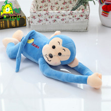 Hot Selling Customized Animal Plush Blue Long Arm Monkey Toys