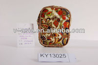 KY13025 pvc coated zip purse