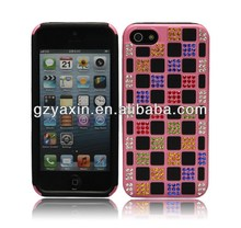 Top Quality Wholesale Factory Diamond Case For Iphone5,Gold Diamond Case For Iphone 5