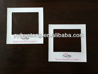 paper printed photo frame fridge magnet