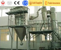 Spin flash drying machine for calcium laurate/benzoic acid
