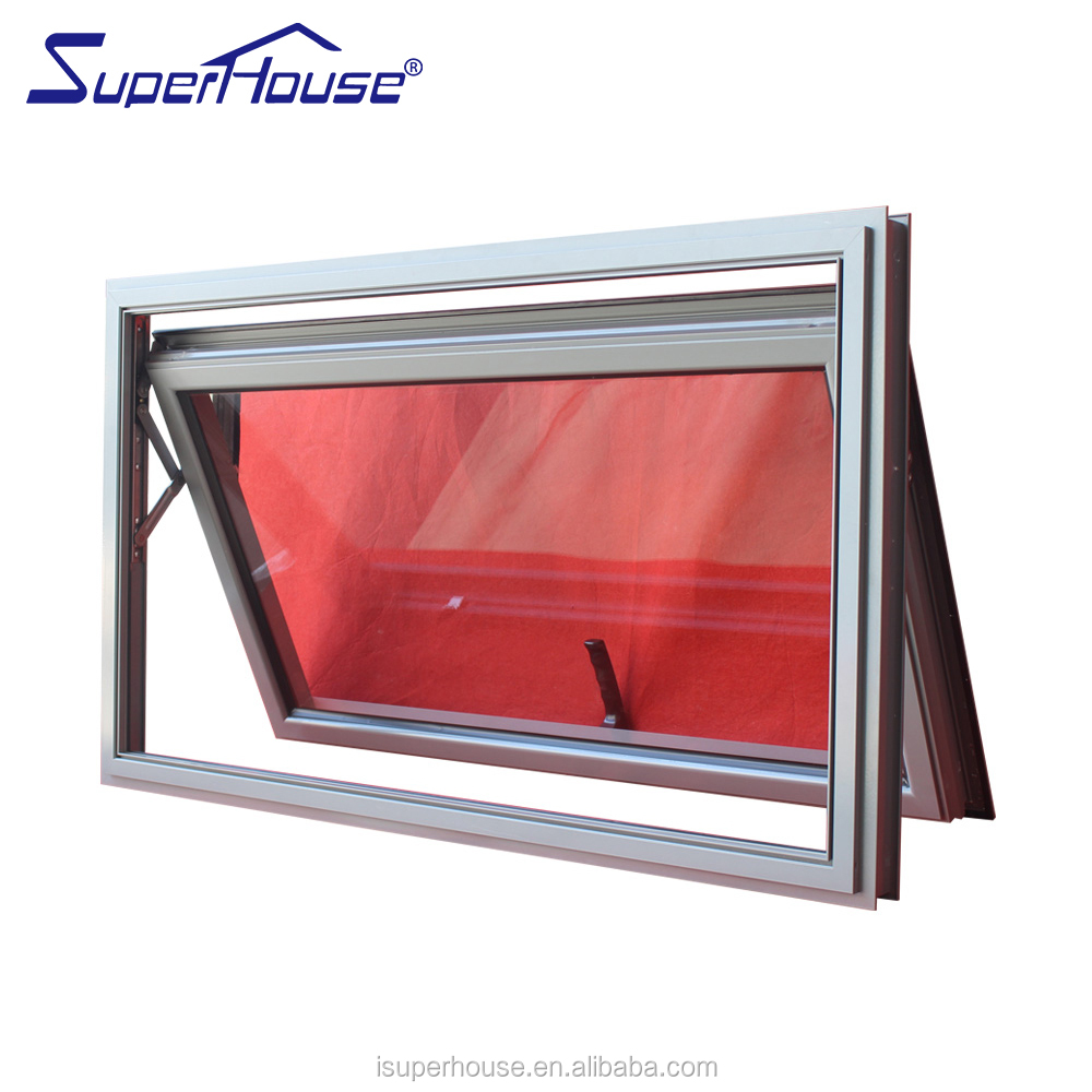 Shanghai Superhouse Professional Heat insulated Aluminium Awning windows Hung windows For container house