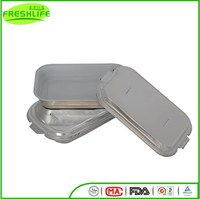 Newly smooth wall foil container smooth wall food container