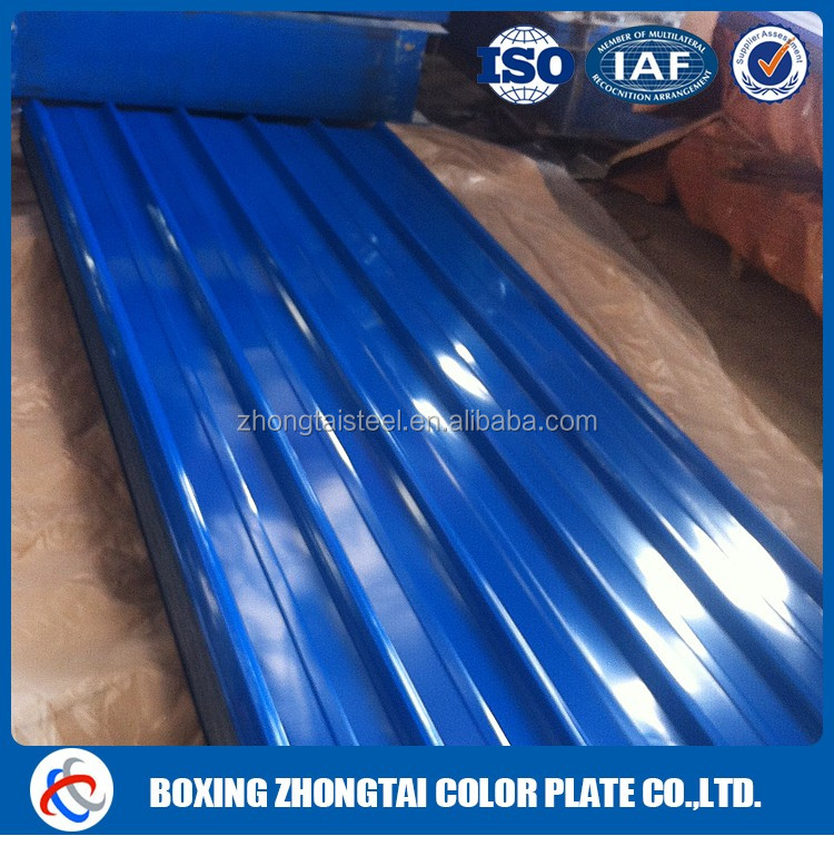 Factory price steel corrugated roof plate sheet gi
