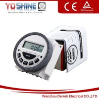LCD Digital Power Programmable Timer Time
