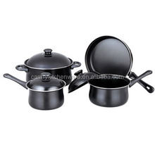 S-6931 7PC nonstick belly cookware sets