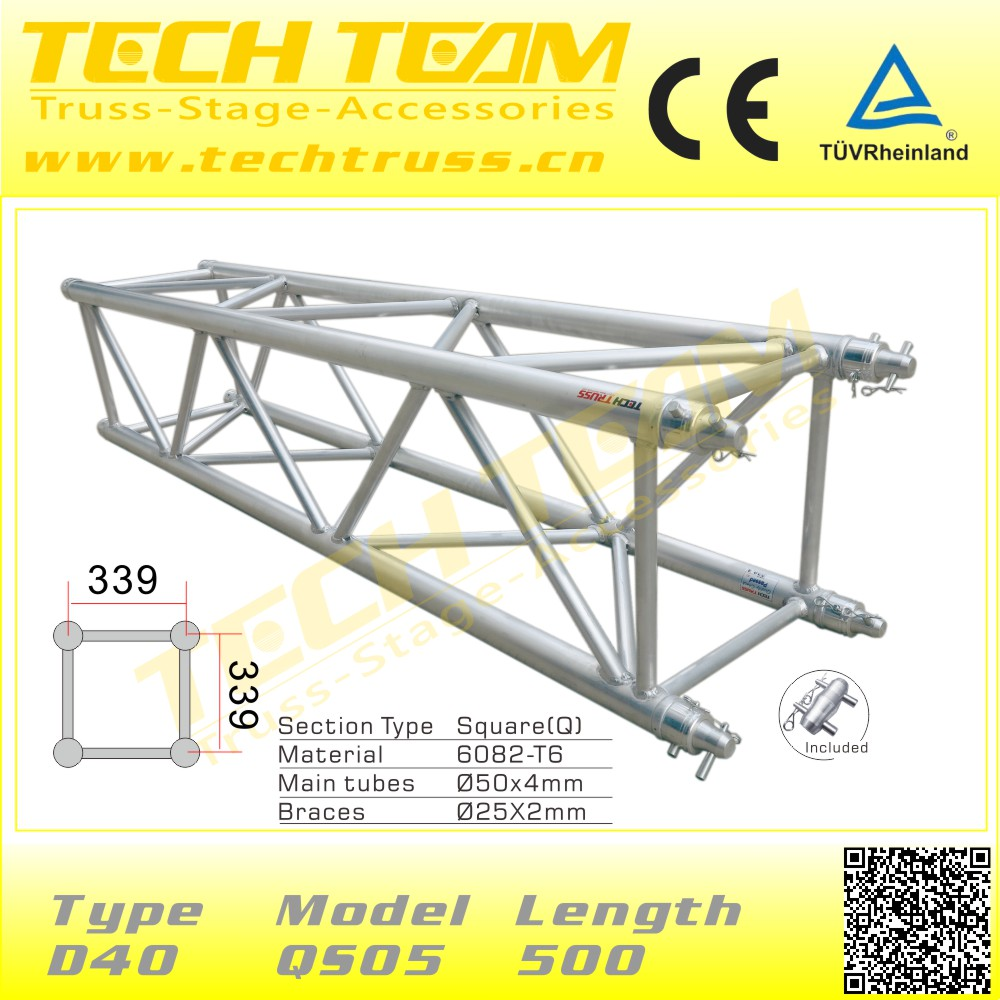 Musical Show Moving Head Light Tent Truss Display