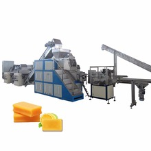China automatic laundry bar soap making machine(CE certified) for sale from Wuxi manufacturer