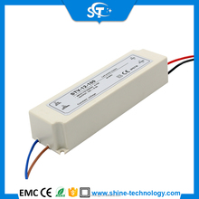 High power LED Driver 100w, Single output 12v 100w plastic housing constant Voltage DC LED transformer