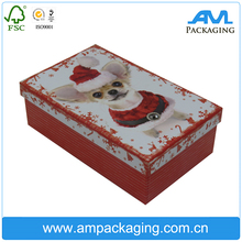 wholesale high quality china hat set up paper gift packing custom rigid box