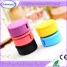 silicone cable winder /earphone cable holder/Silicone sucker earphone cable tidy