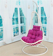 factory direct balcony rattan furniture hanging chairs cheap hot sale patio swing (1151)