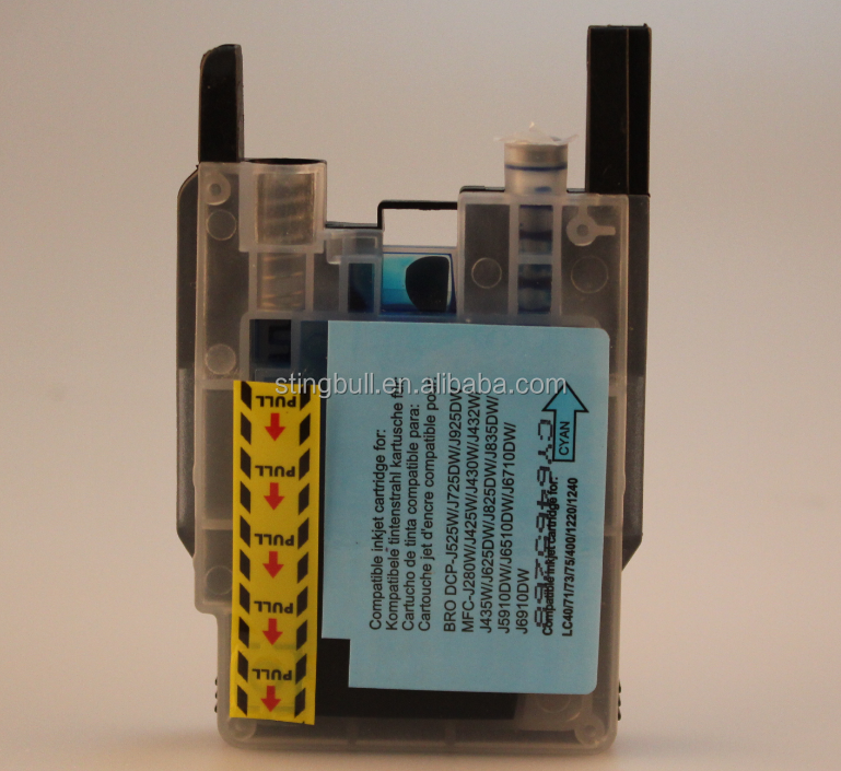 Compatible ink cartridge for brother LC40