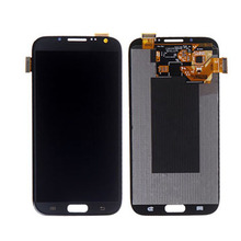 Mobile Phone LCD for Samsung Galaxy Note 2 N7100 LCD Display Touch Screen Digitizer with Frame Assembly Replacement