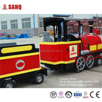 Factory Directly Sale Amusement Park Electric Mini Train