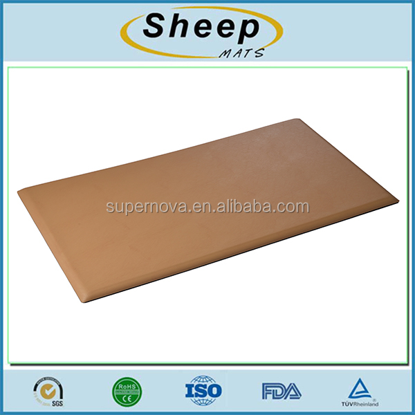 Custom size anti slip blood circulation standing floor foot cushion