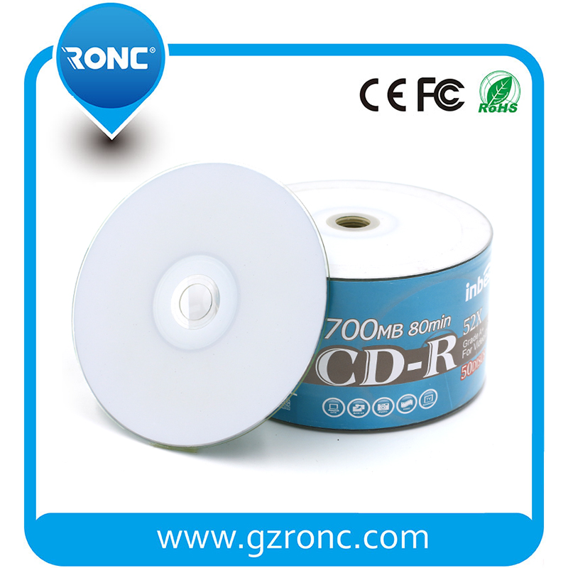 Guangzhou RONC Music&movie Recordable Media Blank Printable CDR