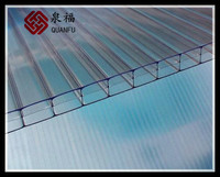 ISO9001 quality insurance hot sale polycarbonate swimming pool roof