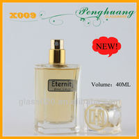 Logo printing bottle of perfume 40ml with oils