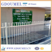 Powder Coated Security Fence / Security Fence Grills System