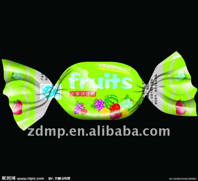 high quality and good printing twist packaging films for candy