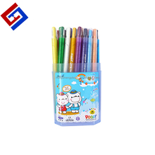 New arrival rainbow body grease 36 twist crayon