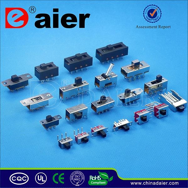 Daier 4P2T SMD slide switch