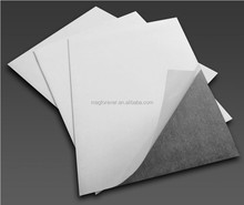 A4 3M Strong adhesive backed rubber flexible magnet sheet