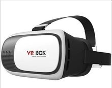 High quality virtual reality 3d vr glasses, ABS plastic 2nd generation vr box 2.0 for Apple IOS, Android