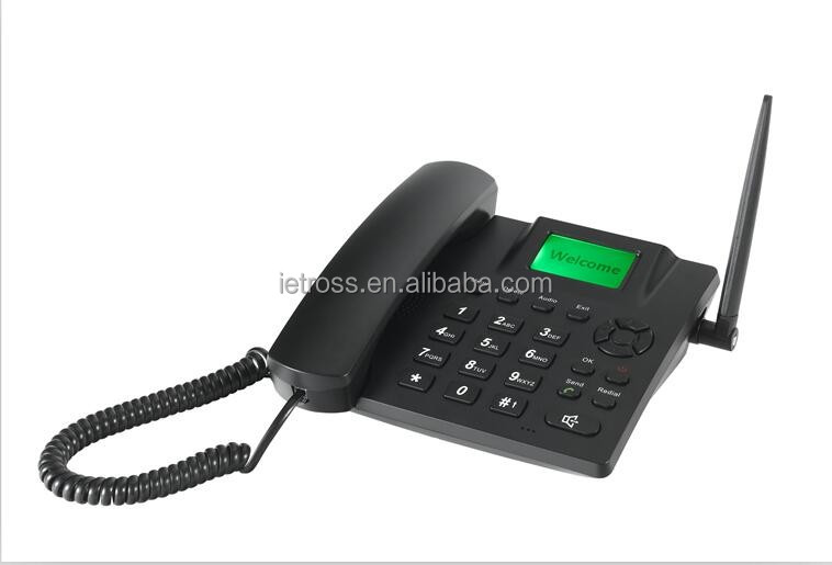 ET 6188 GSM SIM Card desktop mobile phone with 11 Years manufacturer