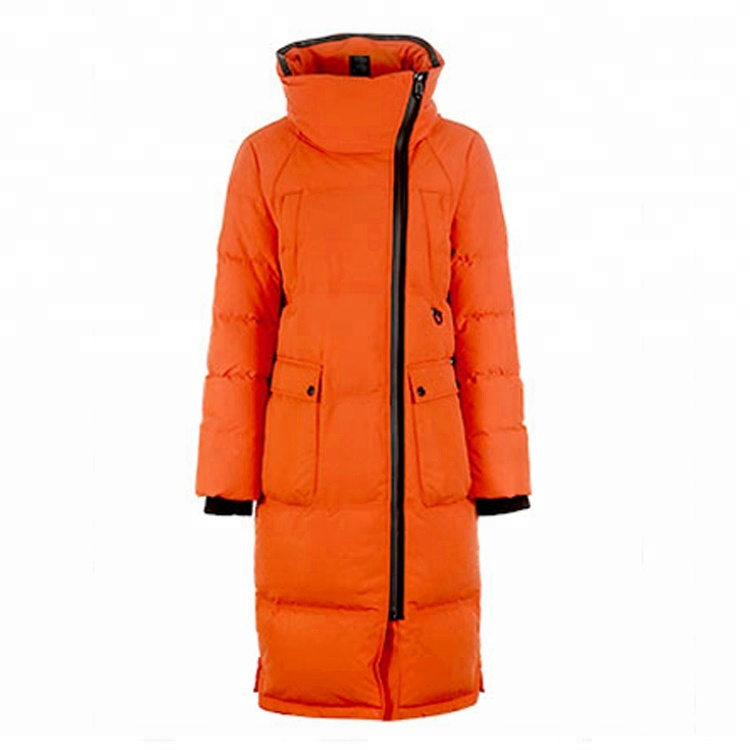 Winter new design women's down coat loose thick long down coat