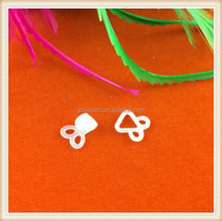 white plastic hook and eye for belt / bag / garment / decoration /shoes/ dress hot sale