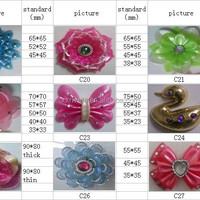 PVC Shoes Charm Jibbizt Shoes Flower