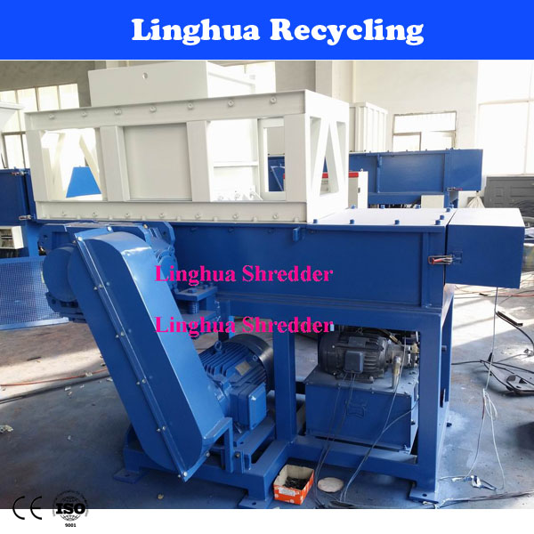 High speed electric motor shredder