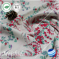 higher quality wholesale 100% cotton poplin printed fabric price