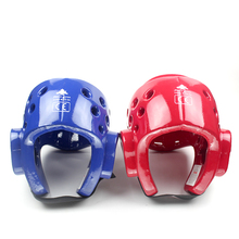 WTF ITF Approved Blue Taekwondo head protector guard